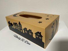 Boite à mouchoirs La nuit tous les chats sont | Etsy Gold Wood, Decorative Boxes, Creations, Etsy, Pretty Patterns, Little Gifts, Wall Art, Cats, Night