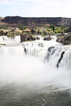 Shoshone Falls, Twin Falls Idaho. It's a majestic site!  I live in Twin as a chilc~always one of my favorite places