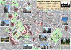 Wien Stadtplan Sehenswürdigkeiten