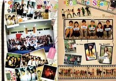 yearbook design layout - Google Search