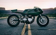 "Triumph Thruxton Cafe Racer ""Three Martini Lunch"" by Icon 1000 #motorcycles #caferacer #motos 