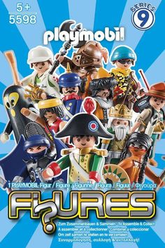 Playmobil Sobre sorpresa Figures Serie 9 Boys 5598 - Serie completa de 12 figuras diferentes - Whole series - Komplette Serie