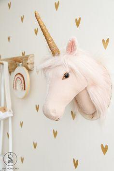 Baby Room Art, Baby Room Decor, Boy Room, Wall Decor, Animal Head Decor, Small Playroom, Playroom Table, Playroom Ideas, Deco Kids