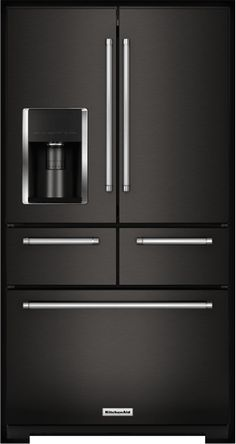 Introducing the first-ever black stainless kitchen - a bold new color from @KitchenAidUSA . Learn more at kitchenaid.com/new Premium Kitchen Appliances and Suites | KitchenAid