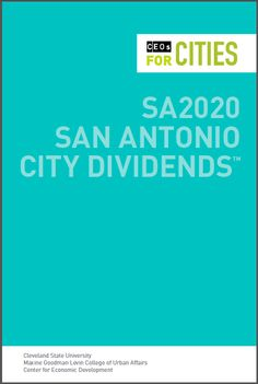The SA2020 vision provides a north star for San Antonio – a list of goals our city is striving to achieve by 2020. Bold and complex, these goals, when achieved, will see an entire city succeed.