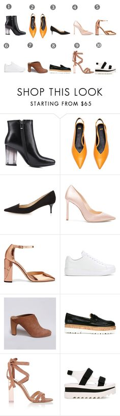 """spring 2017 shoes trends"" by olga-kim-b ❤ liked on Polyvore featuring Jimmy Choo, Prada, Hogan, Gianvito Rossi and STELLA McCARTNEY"