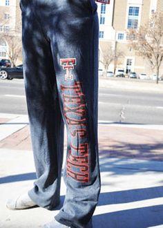 Charcoal Classic Texas Tech Sweatpants
