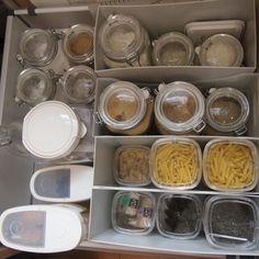 目指せ収納美人!ニトリ&無印良品でキッチンをお片付け♪ Home Organization, Cube, Container, Kitchen, Home Decor, Organize, Lifestyle, Cooking, Decoration Home
