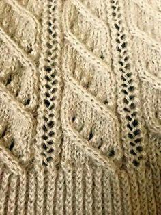 Crochet Motif, Diy Crochet, Crochet Hats, Lace Knitting Stitches, Baby Knitting Patterns, Knitting Videos, Knitting Projects, Free Pattern, Kids