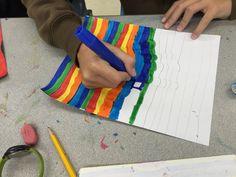 Study of Line, Maclay Middle School Art