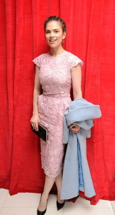 WHO: Hayley Atwell WHAT: Ermanno Scervini dress WHERE: The pre-party for the English National Ballet's the Nutcracker, London WHEN: December...
