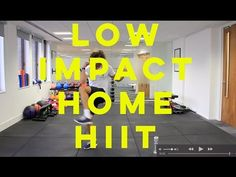 16 Minute Low Impact Fat Burning HIIT Workout | The Body Coach - YouTube