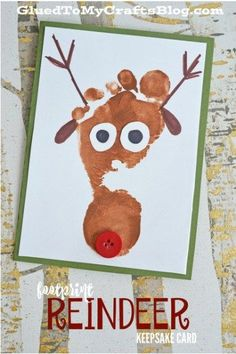 55 toddler Christmas crafts perfect for the holidays! Christmas tree crafts, reindeer crafts, stocking crafts, candy cane crafts, and Santa crafts!