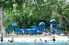 Landa Park Pool | New Braunfels, Texas | Landa Park.  Location: 350 Aquatic Circle, New Braunfels, Texas Hours: Summer Hours: Monday – Saturday: 12 pm – 7 pm (some pools are closed on certain days)              Special hours for lap swim/parent & tot swim Admission: Adults (13-59): $4.00                     Children (3-12): $3.00                     Children (0-2): free