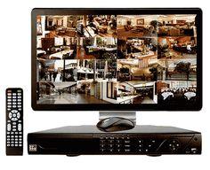 Full HD 1080P Surveillance Systems