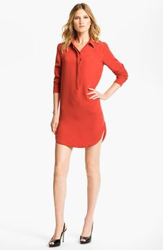 Vince Silk Shirtdress available at Nordstrom