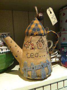Simply Patchwork: Teapot
