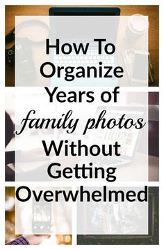 Organizing thousands of family photos can be overwhelming! But this post teaches… Organizing thousands of family photos can be overwhelming! Genealogy Organization, Organization Hacks, Organizing Paperwork, Organizing Ideas, Scrapbook Paper Organization, Project Life Organization, Sticker Organization, Organising, Photo Hacks