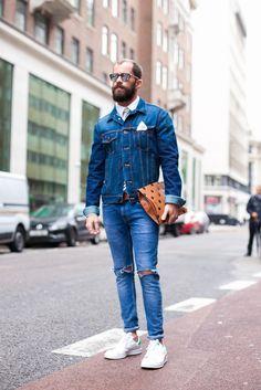 London Collections Men SS16 Street Style - Blog do Kadu - Men's Street Style