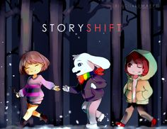 Storyshift [Collab with Lumaere] by Kiacii.deviantart.com on @DeviantArt
