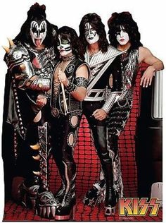 KISS GROUP MUSIC ROCK BAND PAUL STANLEY LIFE SIZE STANDUP CARDBOARD CUTOUT 1815                                                                                                                                                                                 More
