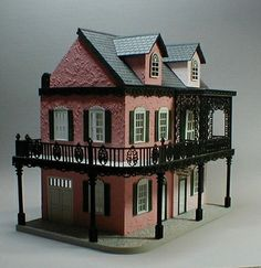 French Quarter Style Miniature