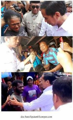 Gtr Saroso: #JKW4P : Membaca Tulisan di Kompasiana : Jokowi Membuat Papua Menangis , tak terasa hatipun tergetar penuh harap
