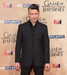 Aidan Gillen at the GoT premiere, London, 18th March 2015