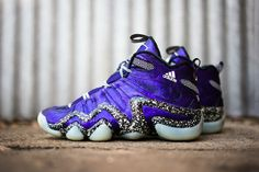 buy popular e88ca b9614 ADIDAS CRAZY 8 NIGHTMARE BEFORE CHRISTMAS GLOW IN THE DARK PURPLE D73959 US190  Adolf Dassler