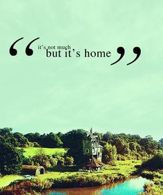 ron weasley- I always wanted to go to the burrow