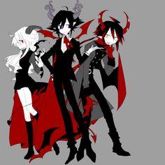 Mogeko; Satanick, Ivlis, and Reficul