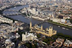 canvas fabric poster London Eye Big Ben Clock Westminster overview wall art room decor home decoration (frame available) Big Ben, Queens, Eyes Wallpaper, Greater London, Westminster Abbey, New Perspective, Hd 1080p, Aerial View, Vacation Spots
