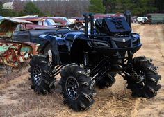 Jason Brown's 2007 Suzuki King Quad 750 Stuck In The Mud, Atv Four Wheelers, Batman, Cool Cars, Monster Trucks, Vehicles, Offroad, Motorcycles, Garage