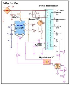 Electronic Circuit Projects, Electronics Projects, Arduino Projects, Transformers, Sony Led Tv, Switched Mode Power Supply, Crt Tv, Power Supply Circuit, Lcd Television