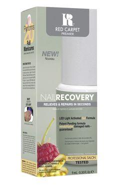 Αναζωογόνητική κρέμα νυχιών. Η gel φόρμουλα του Nail Recovery ενεργοποιείται με την RCM LED λάμπα δημιουργώντας μία επίστρωση στην βάση των κατεστραμμένων νυχιών. Ενεργεί προστατευτικά και δημιουργεί τις κατάλληλες προϋποθέσεις για την άμεση αναζοωγόνηση τους. Βασικά συστατικά: βιταμίνες, μούρα και βότανα.    Τιμή 15,90€