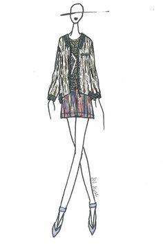 """Modern textural landscape"" #AnnYee New York Designer Inspirations #WWD"