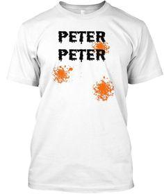 6691f018f Mens Peter Peter Pumpkin Eater T Shirt White T-Shirt Front Sao Kim Ngưu