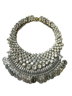 Love Me Gypsy Silver Statement Necklace (2)