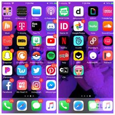 Shared by Kimiko Kiki. Find images and videos about wallpaper, iphone and phone on We Heart It - the app to get lost in what you love. Good Apps For Iphone, Whats On My Iphone, Iphone Home Screen Layout, Iphone App Layout, Organize Phone Apps, Instagram Editing Apps, Iphone Hacks, Phone Organization, Homescreen