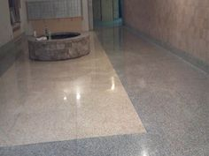 Terrazzo is basically a natural combination of marble chips as well as cement.