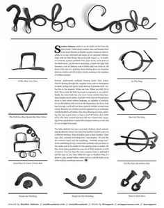 from Stay Wild // Summer 2015 Hobo Symbols, Alphabet Symbols, Hobo Code, Adventure Symbol, Clothing Photography, Photography Outfits, How To Whistle Loud, Travel Baby Showers, Adventure Magazine