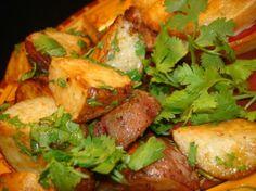 New Potatoes With Garlic And Cilantro Recipe