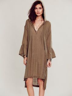 Free People Ride Into the Sun Tunic, $88.00