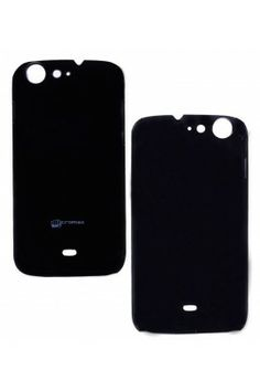 Fuson Luxury Black Back Case Cover For #Micromax Canvas 4 A210