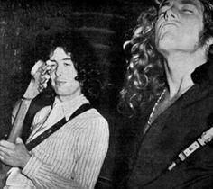 Led Zeppelin in India, 1972.