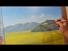 Learn How to Paint Mountains - Acrylic Painting Lesson by JM Lisondra - YouTube
