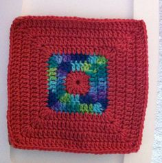 Ravelry: Project Gallery for KAS Solid Granny Square pattern by Rona Malewit