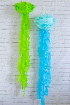 Tissue Paper Jellyfish