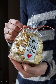 Crackers provenzali   La Cucina Spontanea   Bloglovin'