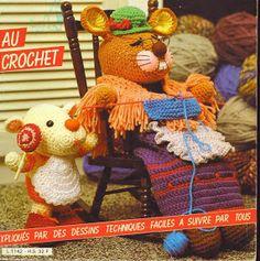 Crochet dor 70 Animaux Rigolo - TODOAMIGURUMI - Picasa Albums Web